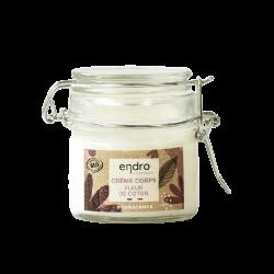 Crème corps hydratante - fleur de coton - Endro