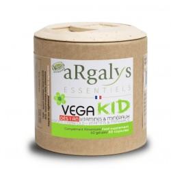Vitamines et minéraux pour enfants - 60 gélules