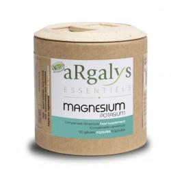 Magnésium + Potassium - 60 gélules