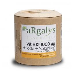 Vitamine B12 - 1000mg + iode + sélénium