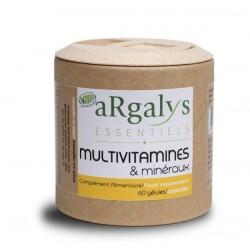 Multivitamines et minéraux - 60 gélules