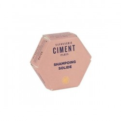 Shampoing solide moussant