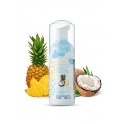 Eau moussante nettoyante visage bio - Ananas coco