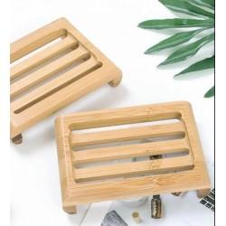 Porte savon en bois - bambou