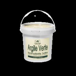 Seau d'argile verte Montmorillonite surfine 1 kg