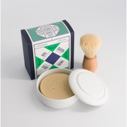 Pack bol en porcelaine et savon de rasage