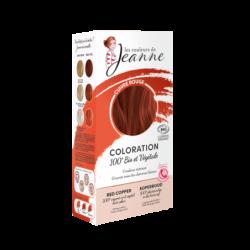 COLORATION 100% BIO & VEGETALE - Cuivré rouge