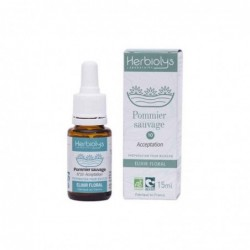 Herbiolys Elixir floral Pommier sauvage (Crab apple) 15mL BIO - Malus sylvestris