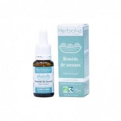 Herbiolys Elixir floral Remède de secours (rescue) 15mL BIO