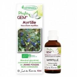 Gemmothérapie Myrtille Bio