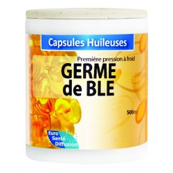 GÉLULES HUILE GERME DE BLE 500MG  - Phytofrance - 100 gélules