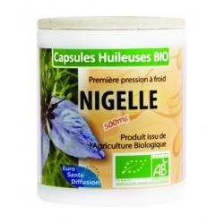 GÉLULES HUILE NIGELLE 500MG (BIO) - Phytofrance - 100 gélules