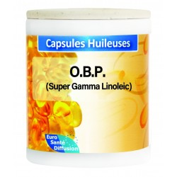 GÉLULES HUILE O.B.P. (SUPER GAMmA LINOLEIC) - 750MG  - Phytofrance - 100 gélules