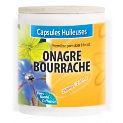 GÉLULES HUILE ONAGRE - BOURRACHE 250/250MG - Phytofrance - 100 gélules