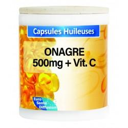GÉLULES HUILE ONAGRE 500MG + VIT.E  - Phytofrance - 100 gélules