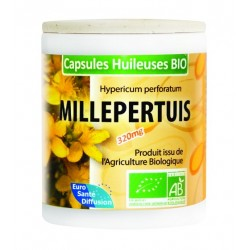 GÉLULES HUILE MILLEPERTUIS - (Lavande) - 320MG (BIO) - Phytofrance - 100 gélules