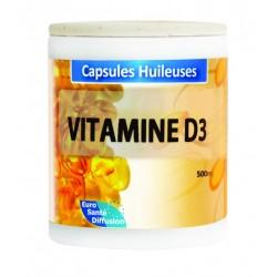 GÉLULES HUILE VITAMINE D3 - 2