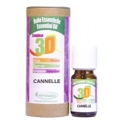 HUILE ESSENTIELLE 3D - CANNELLE - 10ml - Phytofrance