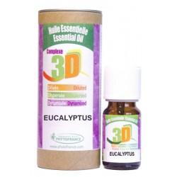HUILE ESSENTIELLE 3D - EUCALYPTUS  - 10ml - Phytofrance