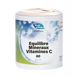 Equilibre Mineraux Vitamines C - 60Gels - Phytofrance