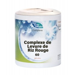Complexe De Levure De Riz Rouge  - 60Gels - Phytofrance