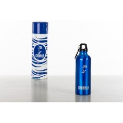 Gourde isotherme bleue - 500ml