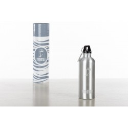 Gourde Isotherme Argent - 500 ml
