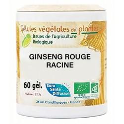 Gélules végétales ginseng rouge racine
