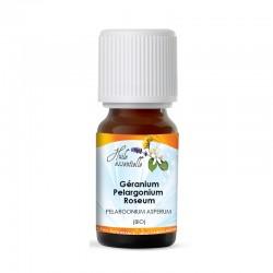 Huile Essentielle Géranium - Pelargonium Roseum (Bio)