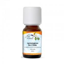 Huile Essentielle Lemongrass De L'Inde (Bio)