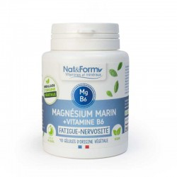 Magnésium Marin - vitamine B6 - fatigue - nervosité -