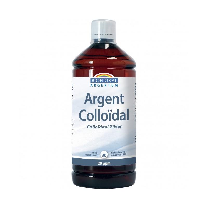 Argent Colloidal naturel 20 PPM - 1L