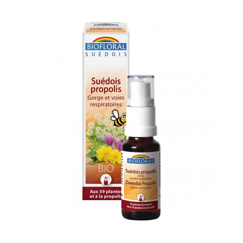 Spray suédois bio 59 plantes