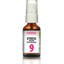 DR.THEISS Complexe de Fleurs de Bach Bio n°9 Stress 20 ml