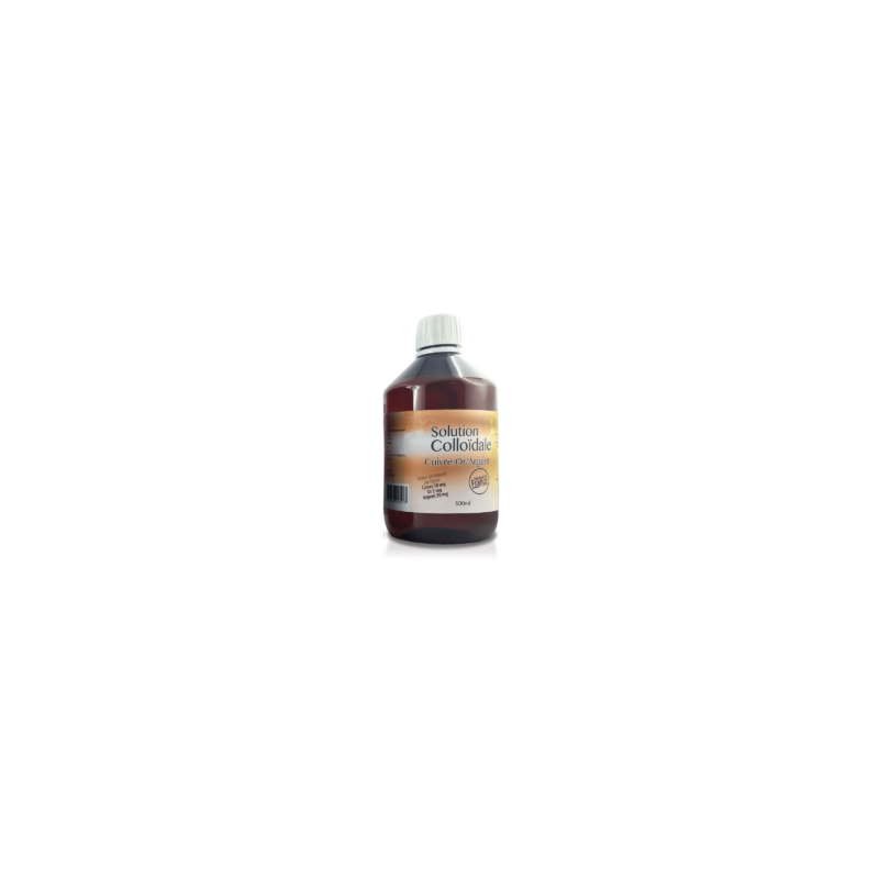 DR. THEISS - Cuire - Or - Argent Colloidal - 500 ml