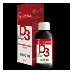 DR. THEISS - Liquamine D3 Vegan 1000UI - 20 ml (extraite du lichen + huile vierge de Colza )