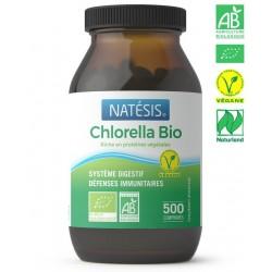 CHLORELLA BIO 500 MG / 500 Comprimés (250 G) - NATESIS