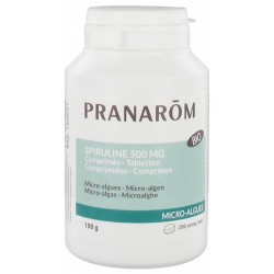 Spiruline 500 Mg Bio 200 Compr - Pranarom