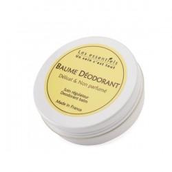 Baume déodorant délicat - non parfumé - 60ml