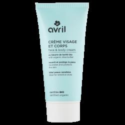 Crème visage & corps 200 ml - Certifiée bio