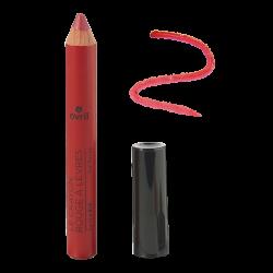 Crayon rouge à lèvres Vrai Rouge Certifié bio