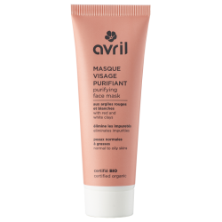 Masque visage purifiant 50ml - Certifié bio