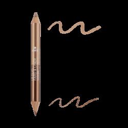Duo fard & liner Bronze Cuivré/Beige Doré Certifié bio
