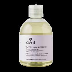 Savon liquide mains Champs de lavande (sans pompe) 300 ml - Certifié bio