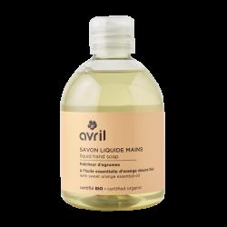 Savon liquide mains Fraîcheur d?agrumes (sans pompe) 300 ml - Certifié bio