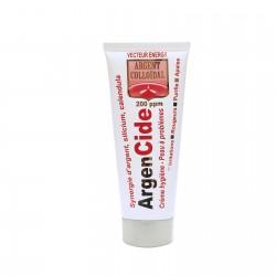 Crème argent colloidal Bio 200 ppm ArgenCide - Peau à problème