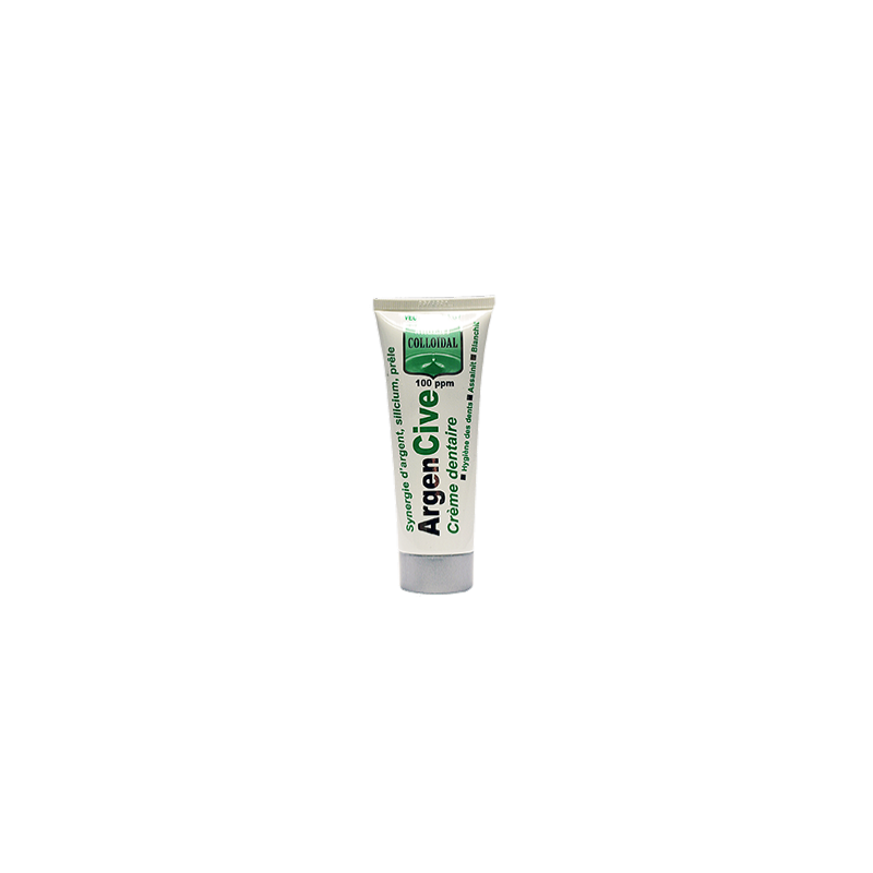 Dentifrice Argent Colloidal