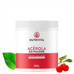 Acerola en poudre 500g - Nutrivita