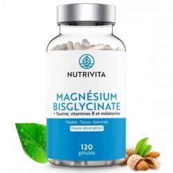 Magnesium Bisglynate - 120 gélules - Nutrivita