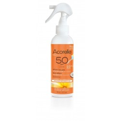 Spray solaire enfant SPF50 bio